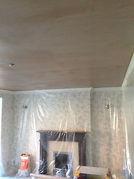 ceiling and taping wall.JPG