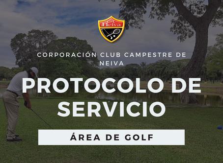 Habilitado servicio de golf en el Club Campestre de Neiva