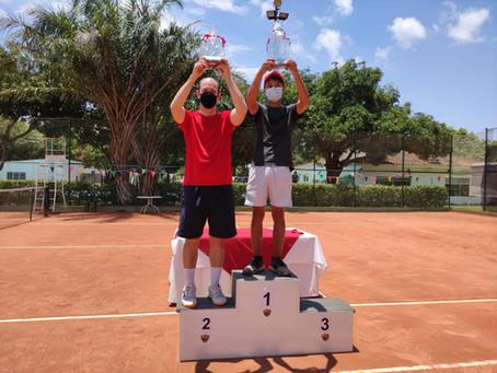 Los ganadores del Torneo Interno de Tenis