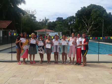 Despedida de la clase de natación 2018