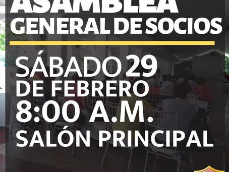 ASAMBLEA GENERAL DE SOCIOS