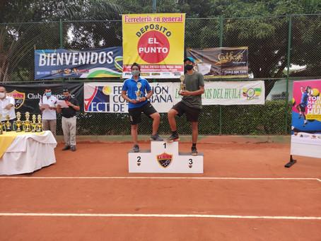 ¡Los campeones y subcampeones del tenis juvenil en Colombia!