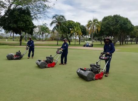 El Comité de Golf renueva máquinas de mantenimiento