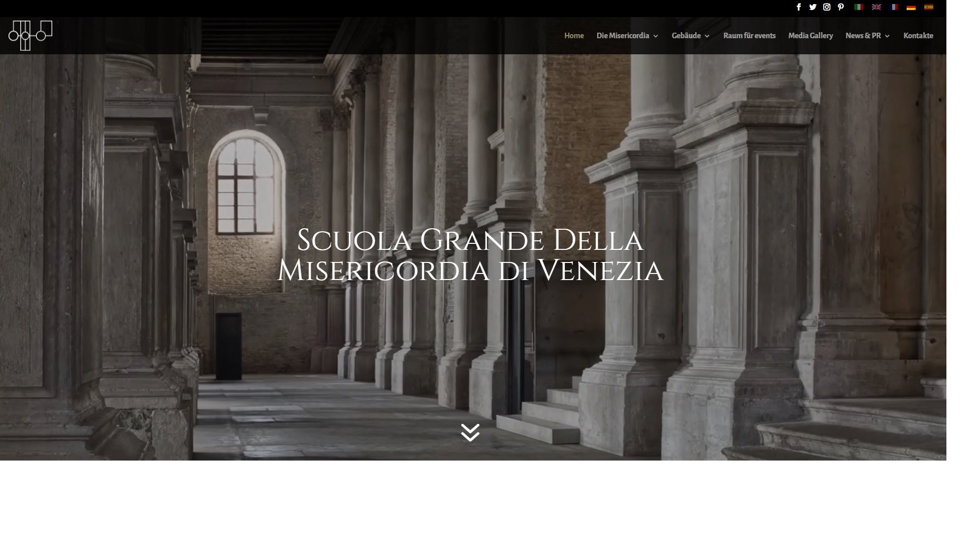 miselicordia di venezia exhibition