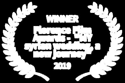 WINNER - Florence Film Awards -  MY syri