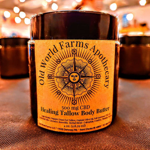 Healing Tallow Body Butter CBD