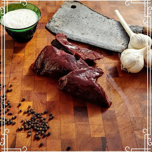 Organic Grass Fed Beef Liver