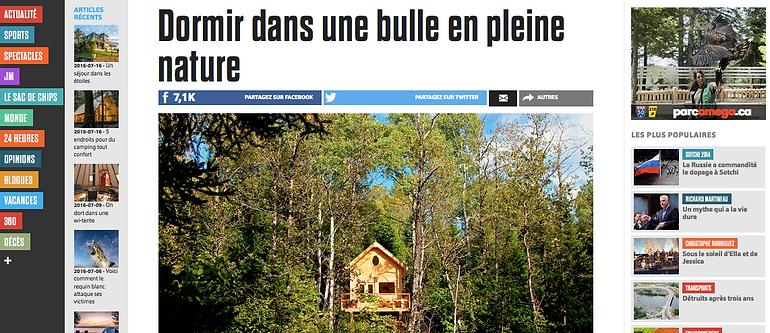 Margaux Vallet Photographies, Canopée Lit, Le Journal de Montréal