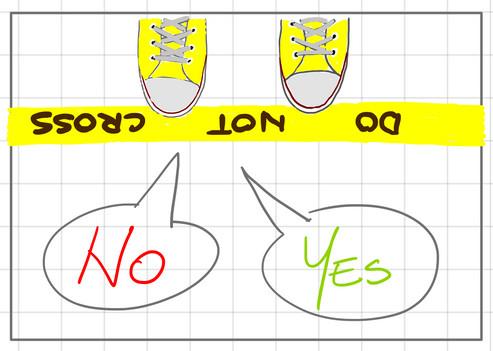 saying NO and saying YES