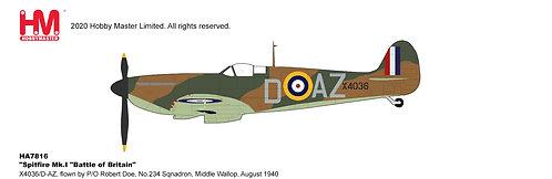 Spirfire Mk.1 RAF  Flown by Robert Doe 134 Sqd 1:48 HA7816