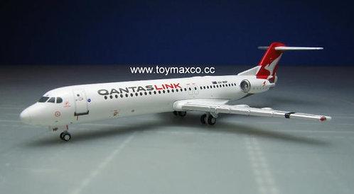 Qantas Link Fokker 100 VH-NHP 1:400 GJQFA1696