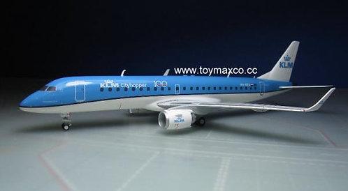 KLM Cityhopper E190 PH-EZA 1:200 HE557580-001