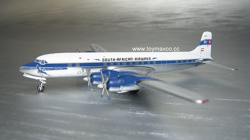 South African DC-7B 1:400 ACZSDKF