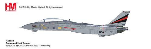 F-14A US Navy VF-154 Black Knights USS Kitty Hawk 1:72 HA5233