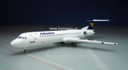 Alliance Fokker 100 VH-UQC 1:400 GJUTY1832