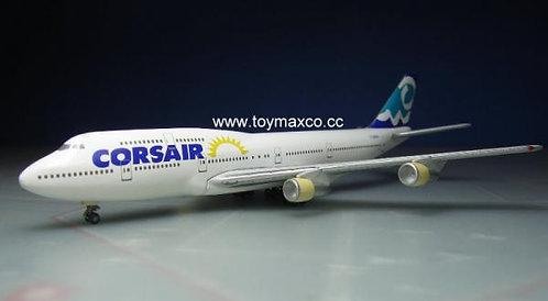 Corsair B747-300 Sun 1:500 HE504072