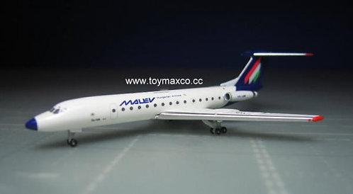 Malev Hungarian TU-134A HA-LBR 1:500 HE532914