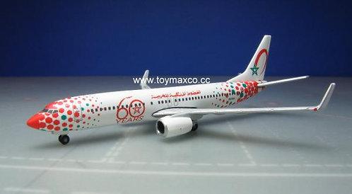 Royal Air Maroc B737-800 60th Ann. 1:500 HE531153