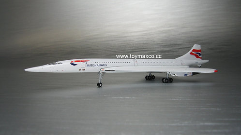 British Airways Concorde G-BOAB 1:400 GJBAW1946