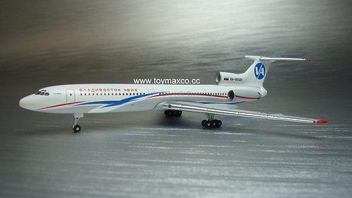Vladivostok TU-154 RA-85689 1:400