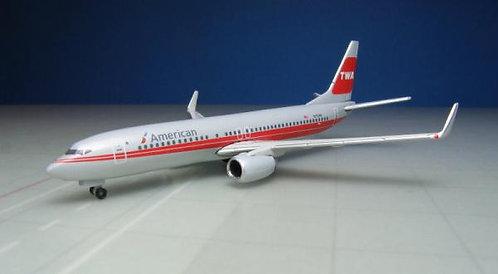 American Airlines B737-800 TWA 1:500 HE529259