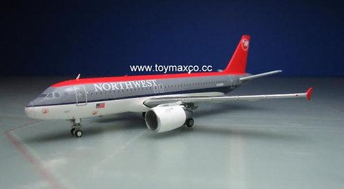 Northwest A320  N365NW 1:400 GJNWA371