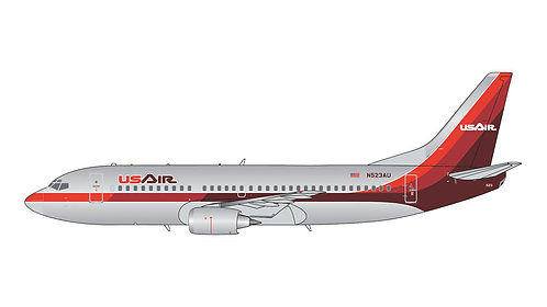 US Air B737-300 N523AU 1:400 GJUSA372