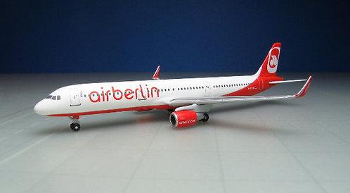Air Berlin A321 D-ABCL 1:500 HE528443
