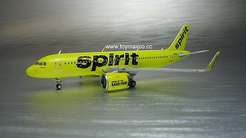 NEW Spirit Airlines A320 neo N902NK 1:400 GJNKS1612