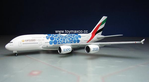 Emirates A380 Blue Expo 2020 1:500 HE533713