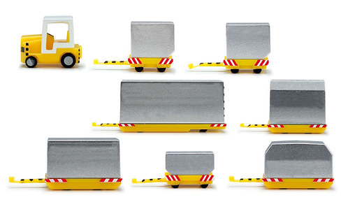 Containers vehicles 1:200 HE557825