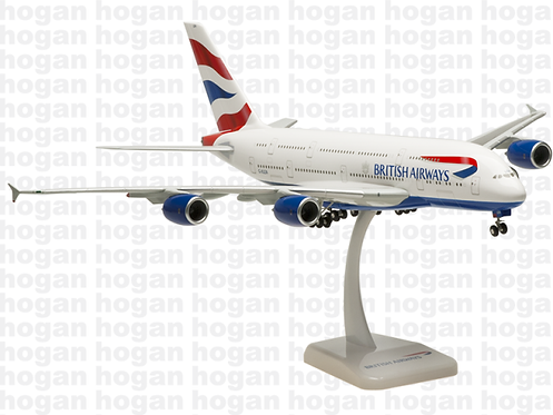 British Airways A380 1:200 HG0298