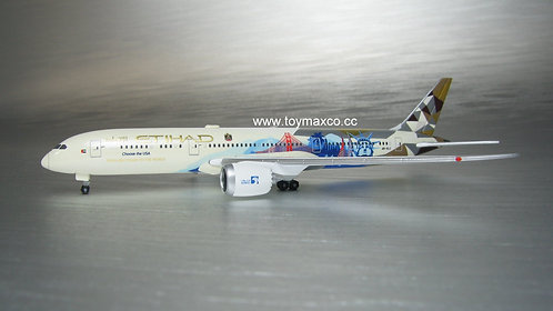 Etihad Airways B787-9  A6-BLE Choose the USA 1:500 HE534543