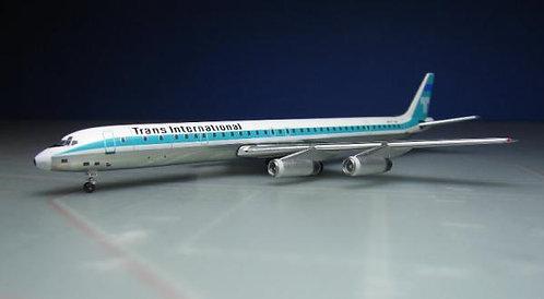 Trans International DC-8-63 N871TV 1:400 ACN871TV