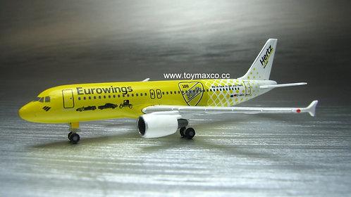 Eurowings A320 D-ABDU Hertz 1:500 HE533560
