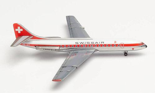 Swissair Caravelle HB-ICT 1:500 HE534062