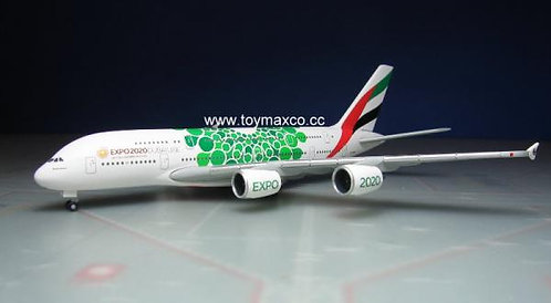 Emirates A380 Green Expo 2020 1:500 HE533522