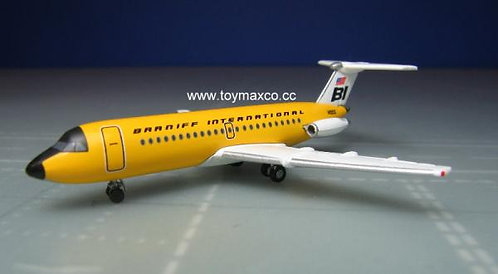 Braniff BAC -1-11-200 Yellow 1:500 HE533003