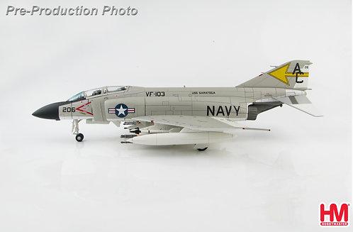 F-4J US Navy VF-103 Sluggers USS Saratoga 1:72 HA19015