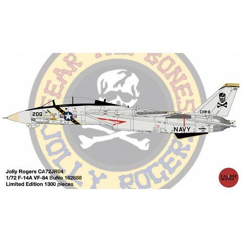 F-14A US Navy VF-84 Jolly Rogers BuNo 162688 1:72 CA72JR04