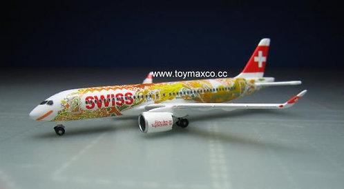 Swiss A220-300 Fete de Vignerons 1:500 HE533584