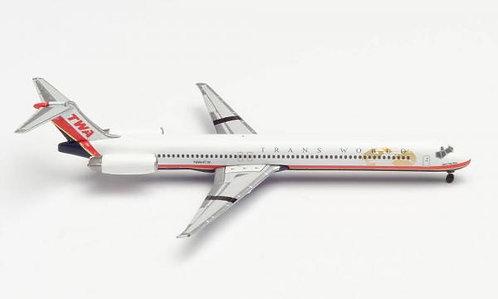 TWA MD-83 1:500 HE533737