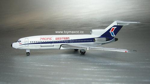 Pavific Western B 727-100 1:400 ACCFPXD