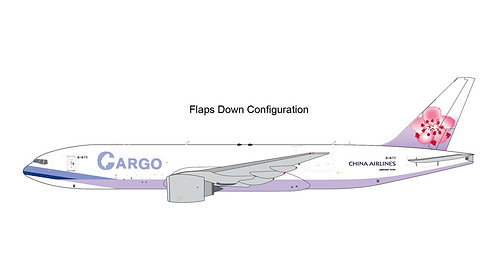 China Airlines Cargo B777F B-18771 Flaps Down 1:400 GJCAL1984F