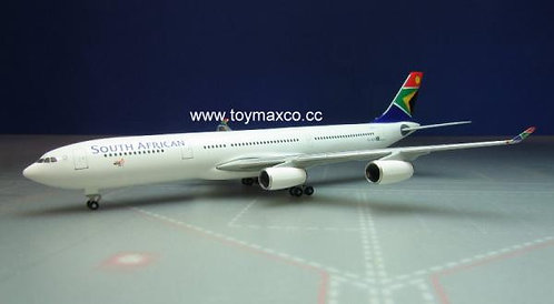 South African Airways A340-300 ZS-SXF 1:500 HE530712