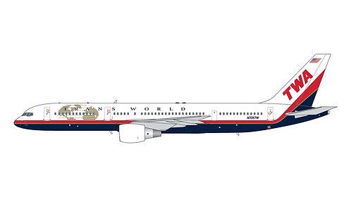 TWA B757-200 N725TW 1:400 GJTWA1982
