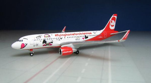 Air Berlin A320 Home 4 Christmas 1:500 HE529709