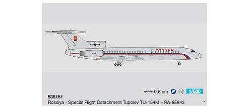 Rossiya TU-154M RA-85843 1:500 HE535151