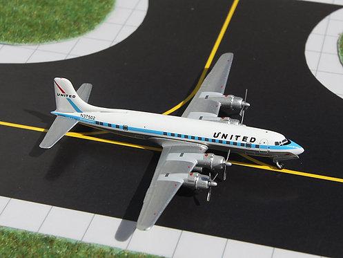United DC-6B N37576 1:400 GJUAL972