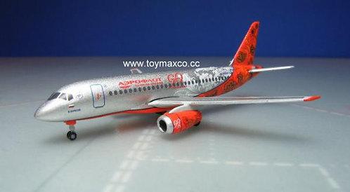 Aeroflot SSJ-100 1:500 HE531160